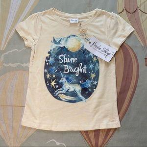 Little Skye Unicorn Shine Bright Tee 5 Years